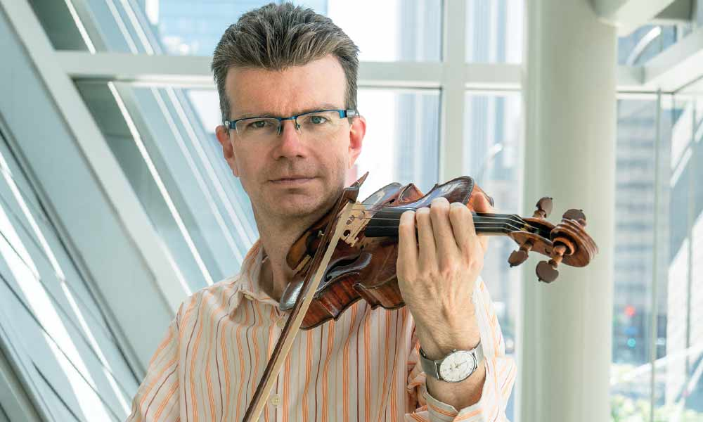 Scott St. John, violin
