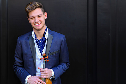 Blake Pouliot, violin, with MSSO presented by SCA on Jan 14, 2021