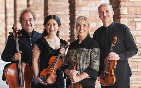 Takács Quartet presented by SCA on Feb 25, 2021