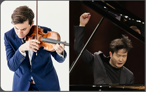 Benjamin Beilman and Yekwon Sunwoo presented by SCA on Jan 24, 2021