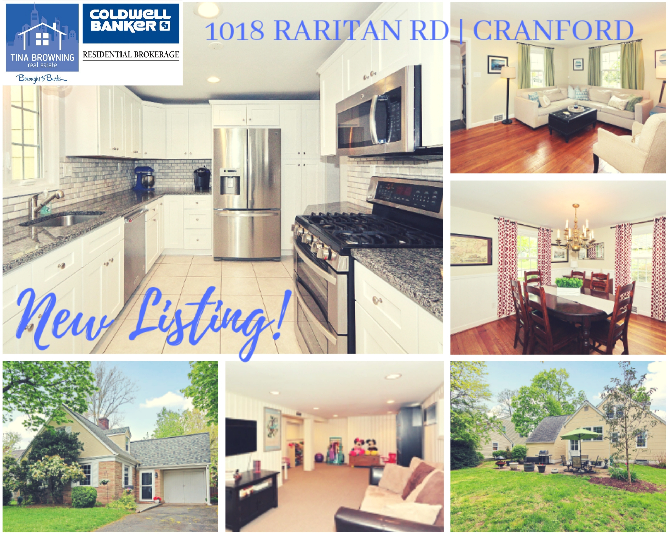 New Listing! 1018 Raritan Road, Cranford