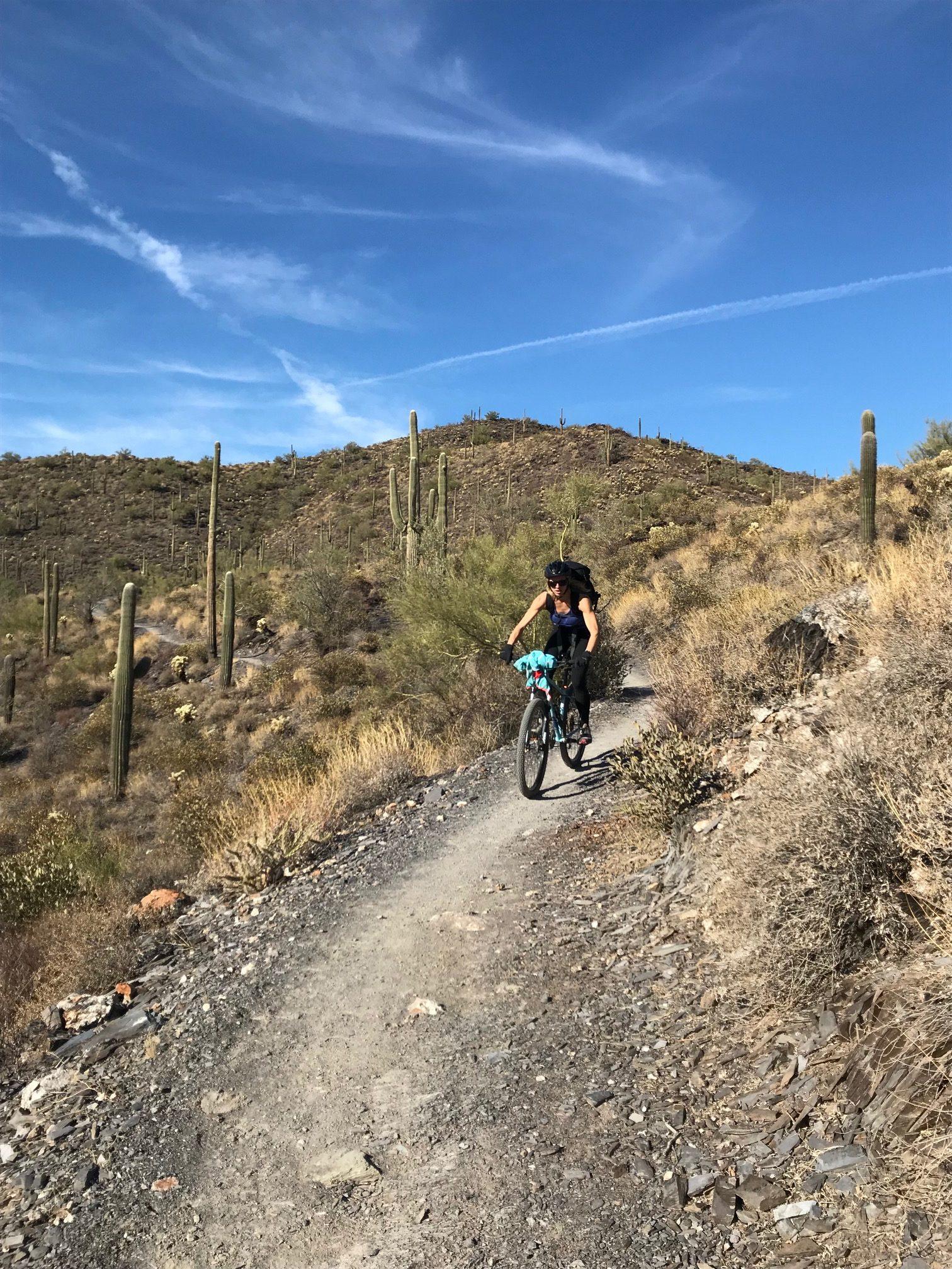 Cross training in AZ during winter