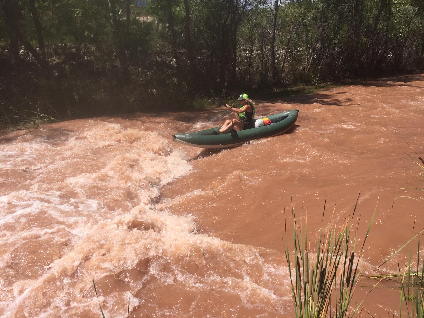 Kayaking in Arizona Off Season fun