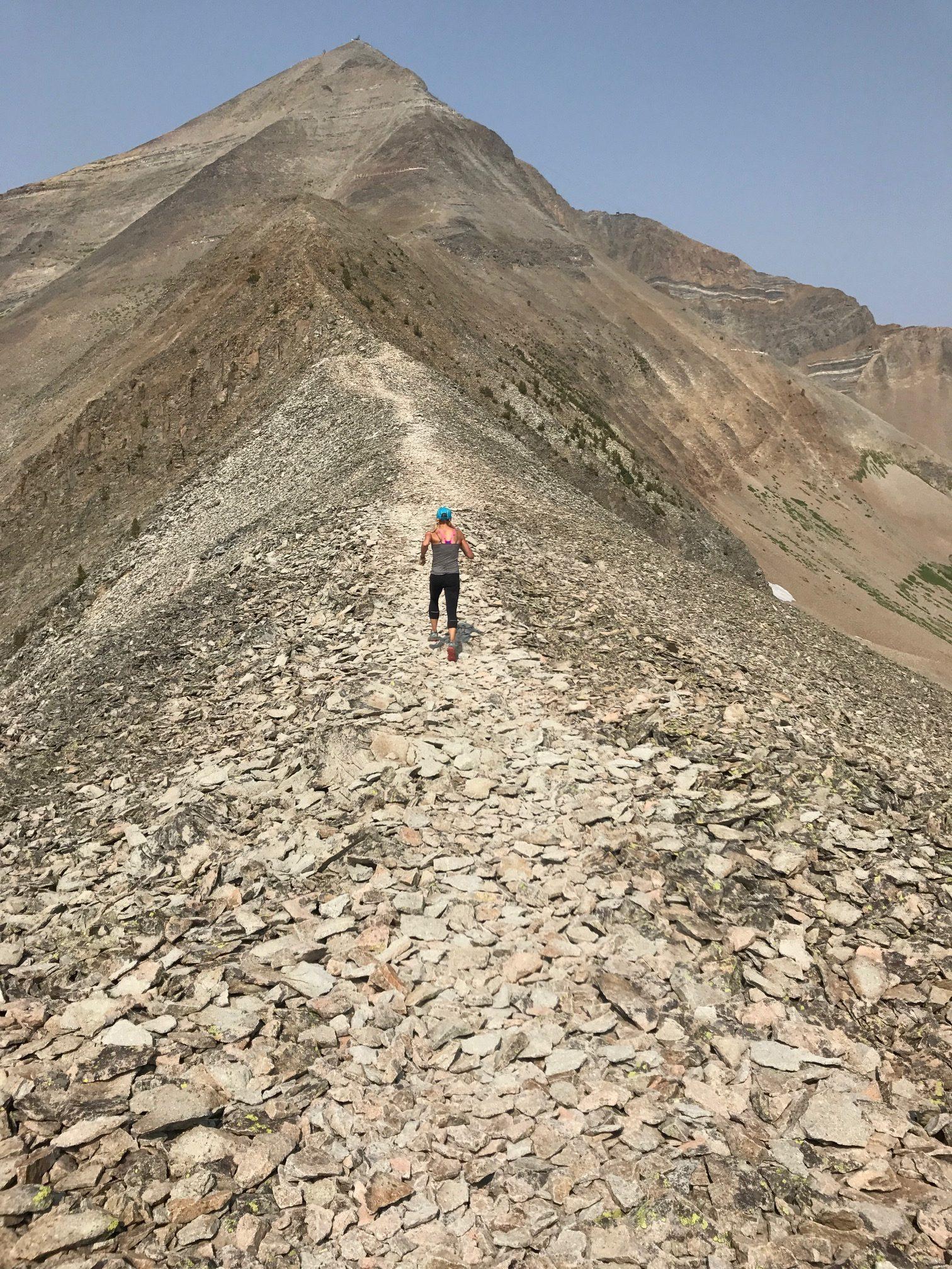 Training time on Lone Peak