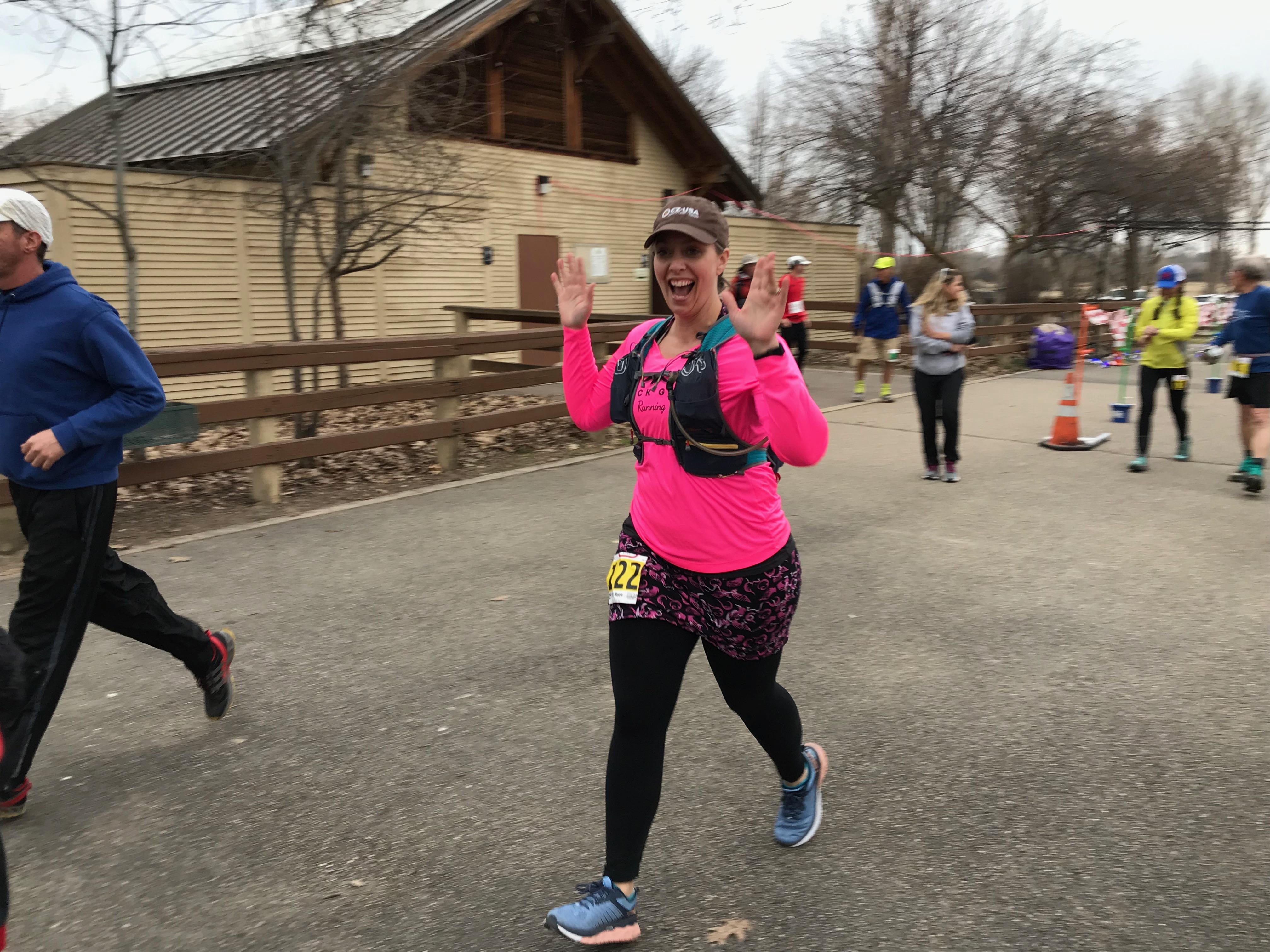 Kristine Goodman runs 52.58 miles in her 24 hour race at the Pulse Endurance Runs!