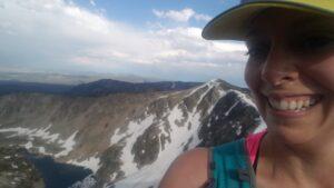 Kristine Goodman Runs Beaverhead 55K