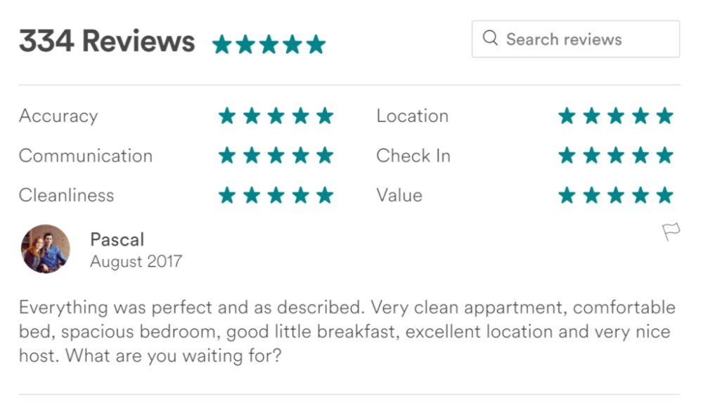 Yes, pictures and property descriptions are useful, but the real inside scoop is hidden within the review section.