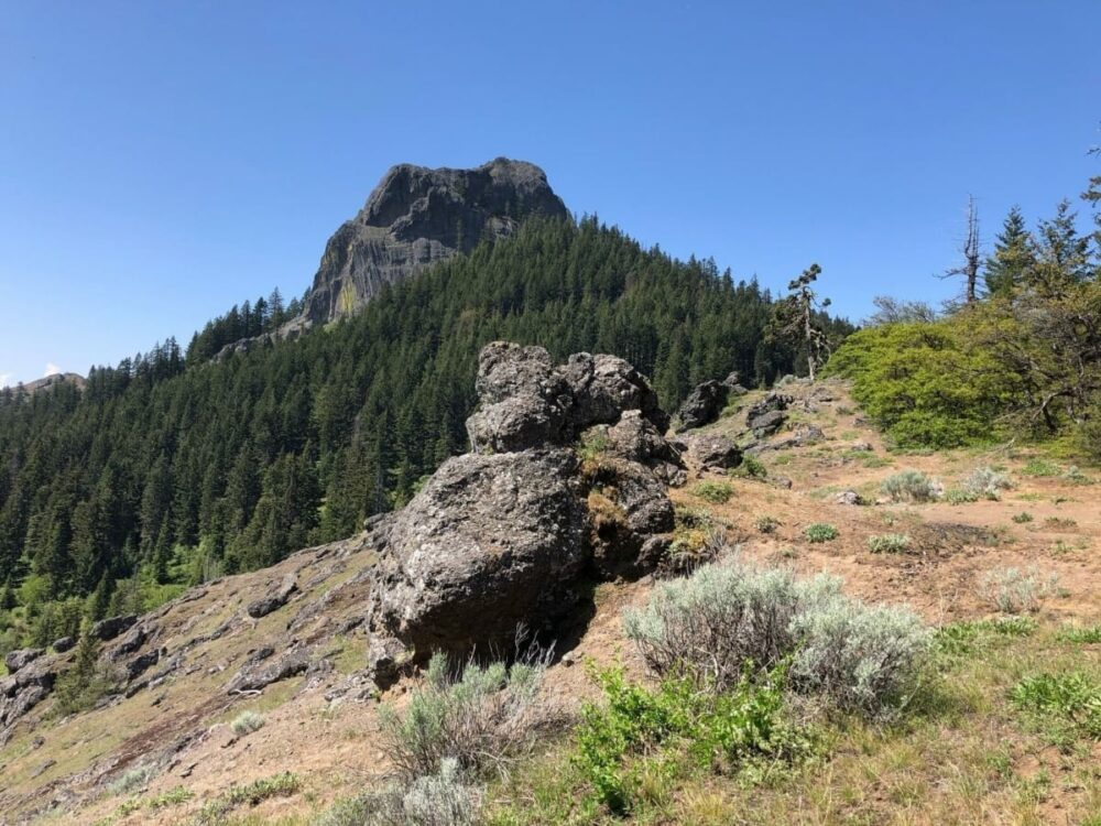 One of the toughest hikes in Ashland, Oregon. The hike to the top of Pilot Rock is not for the fain of heart.