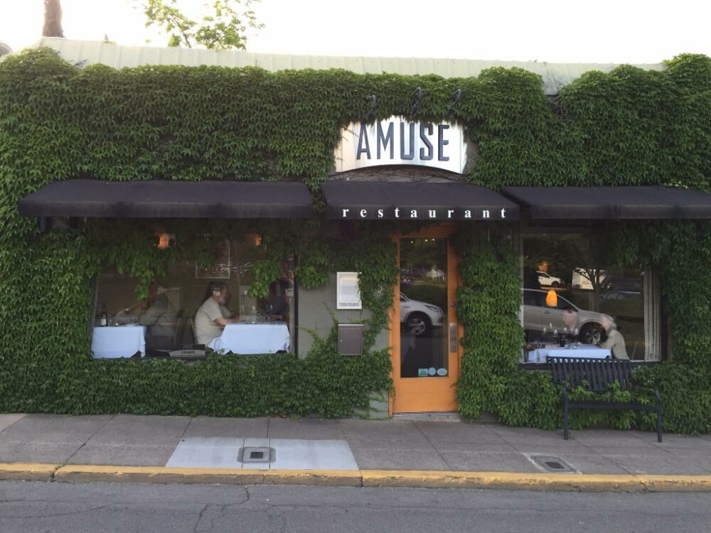 Amuse in Ashland Oregon serves up some of the best cuisine in Ashland Oregon