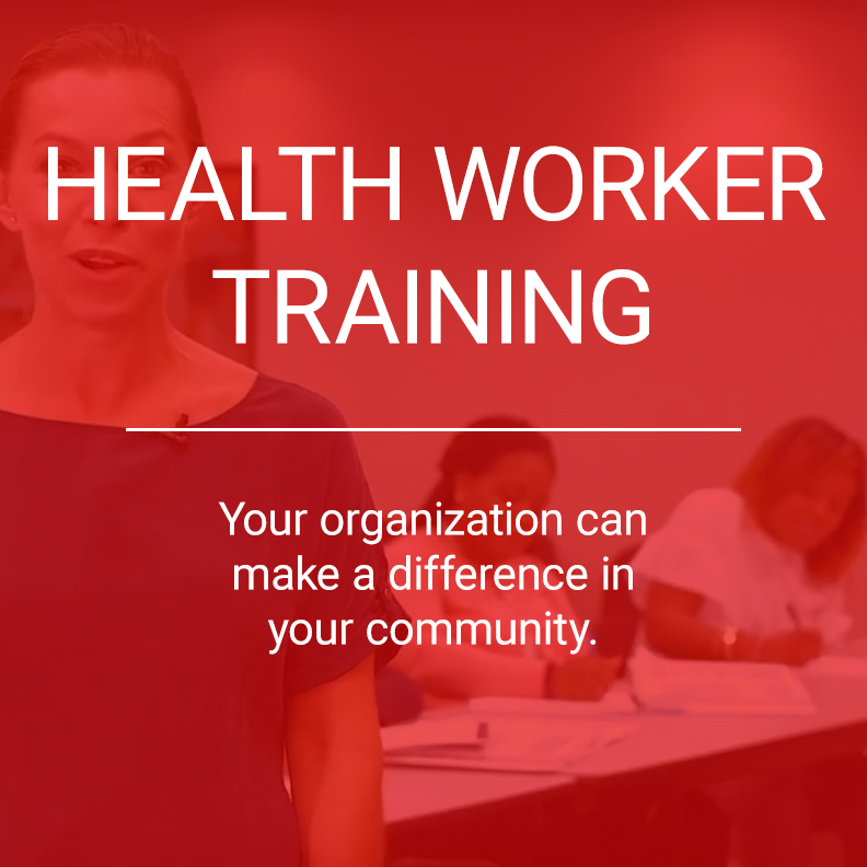 health worker training