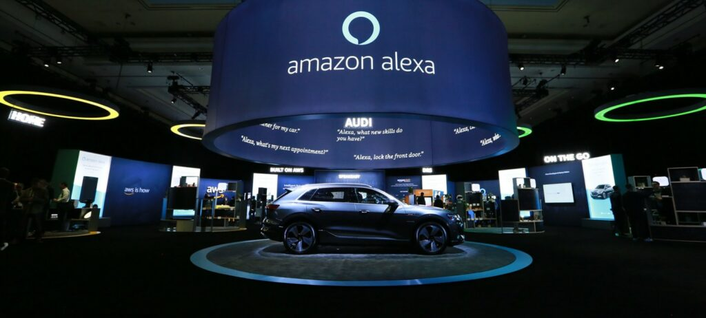 CES 2019 Alexa / AWS (Amazon Web Services) Exhibition Space