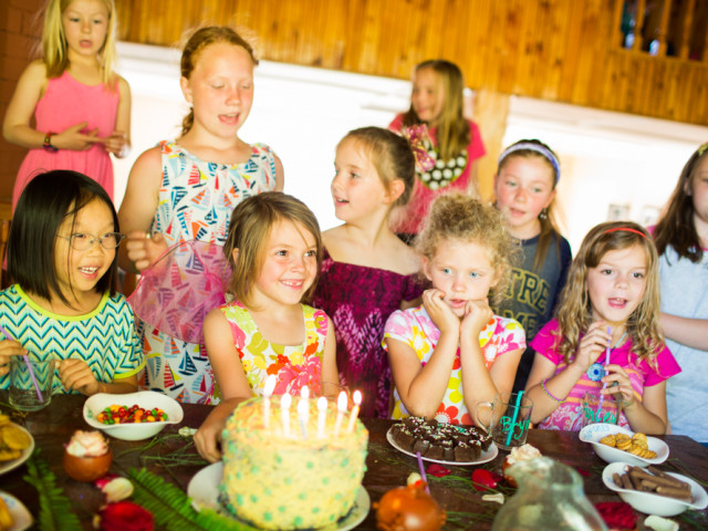 Annabelle's 7th birthday party: Pixie Hollow