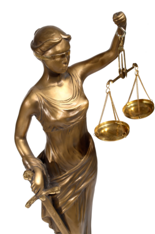lady justice transparent