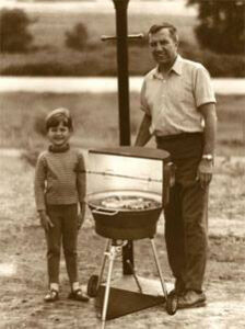 First Outdoor Gas Grill in 1960