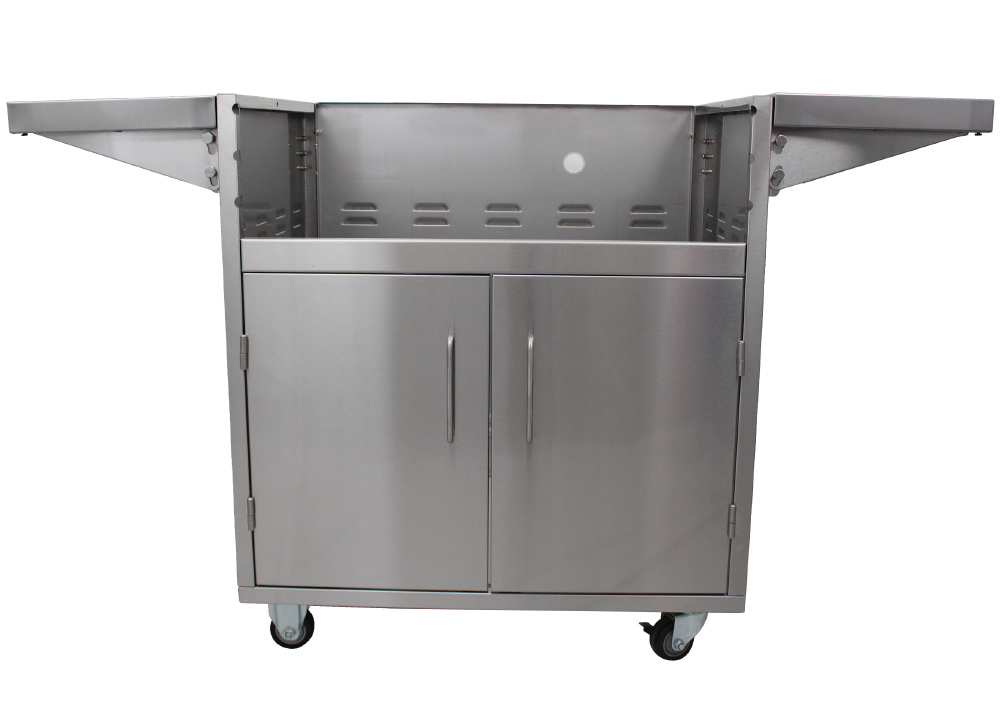 Dragon Fire Stainless Steel Cart