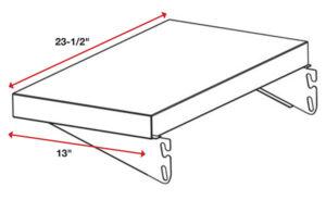 Side Shelf Diagram