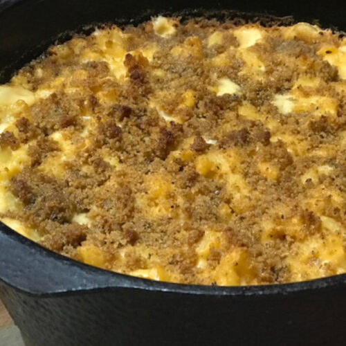 Smoked Mac and Cheese made on the grill