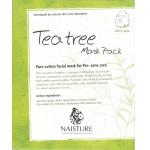 Naisture Cotton Sheet Mask TEA TREE