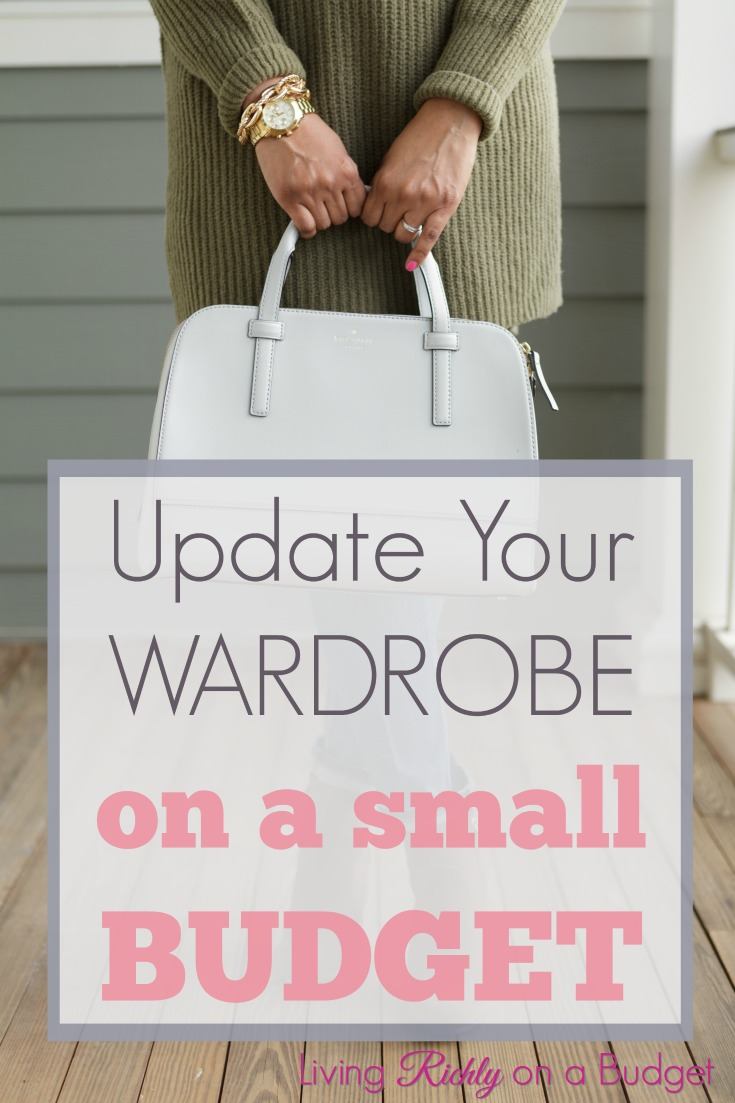 update your wardrobe on a small budget