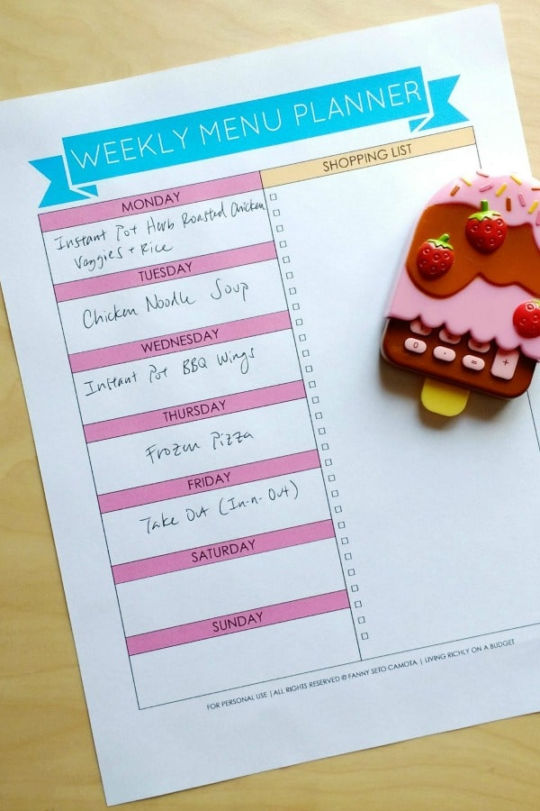 Struggling with meal planning? Here are 20 simple ideas to get you started.