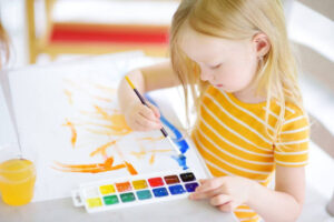 kids painting class