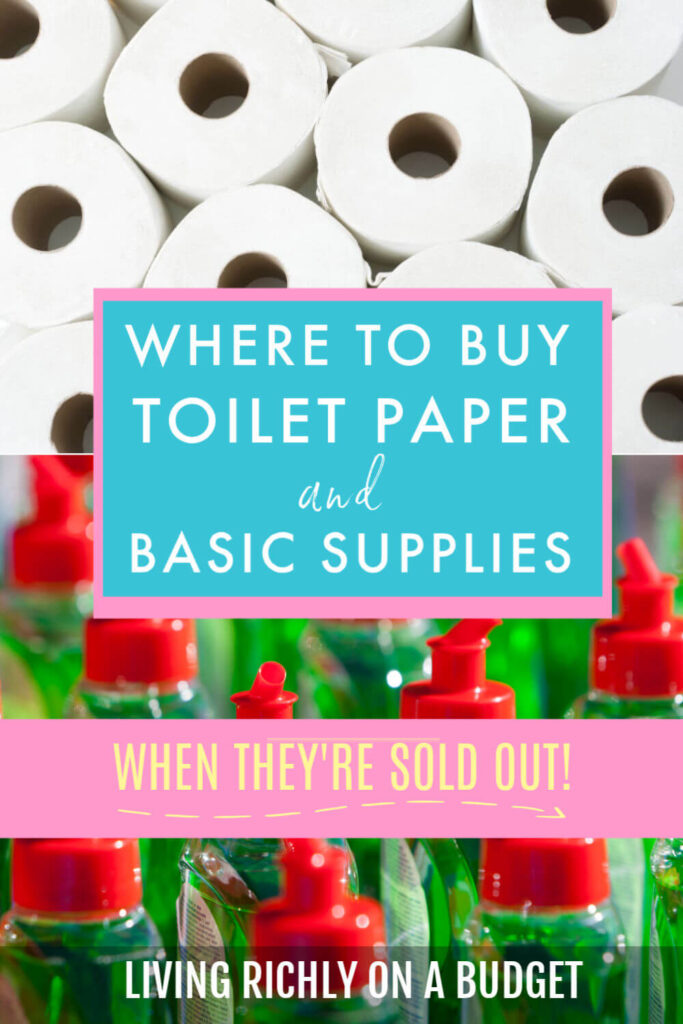 Where to Buy Toilet Paper When They're Sold Out