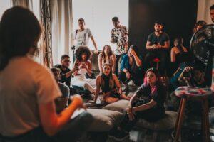 Group readings by Lisa Najjar