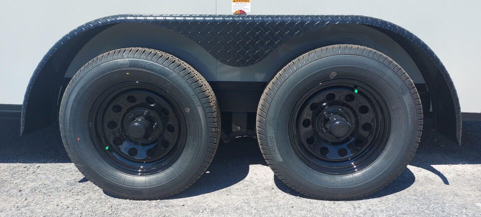 2021 STEALTH 7X14 DUAL AXLE +6″ EXTRA HEIGHT