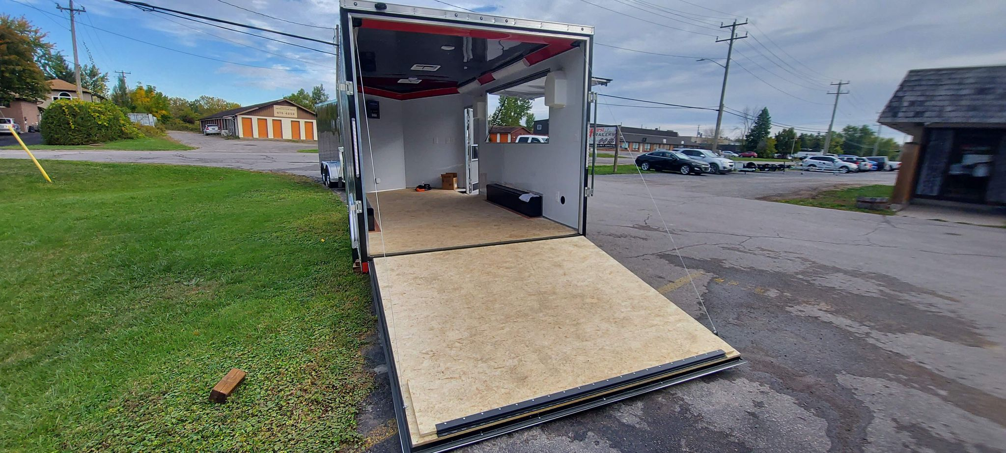 2021 DISCOVERY CHALLENGER 8.5X16 CONCESSION TRAILER