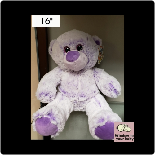 "16"" Purple Bear"