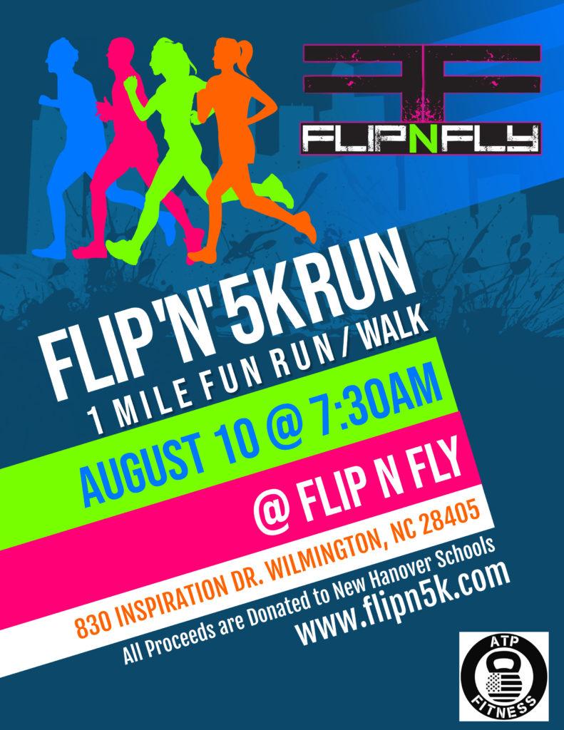 Flip N 5K and 1 Mile Fun Run/Walk