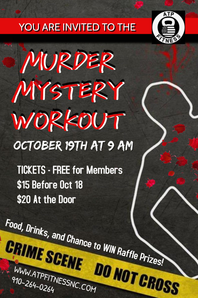 Poster- Murder Mystery Party Invitation (1)