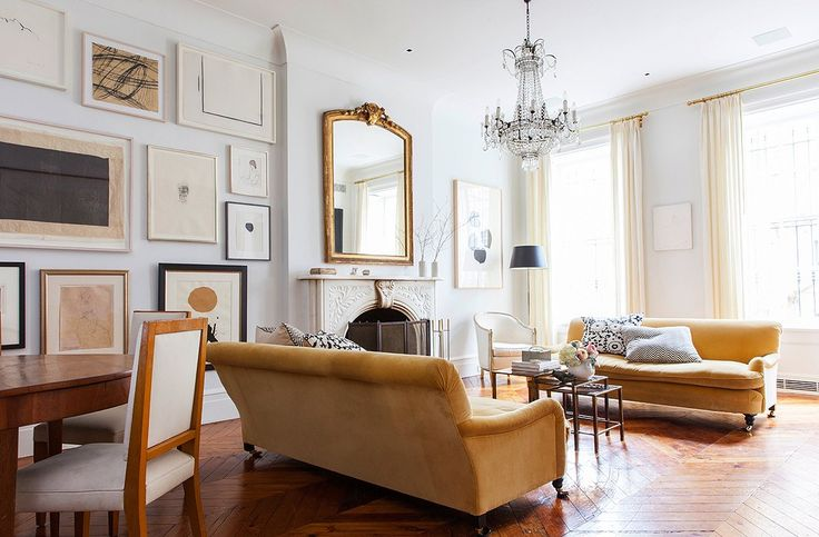 A Vision of Elegance in the West village Home Interiors Forever Chic by Meg