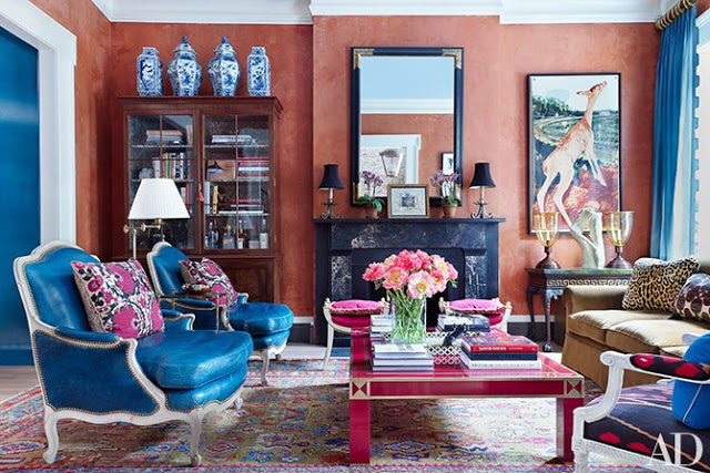 A Beautiful Brownstone in Brooklyn Heights Interiors Forever Chic by Meg