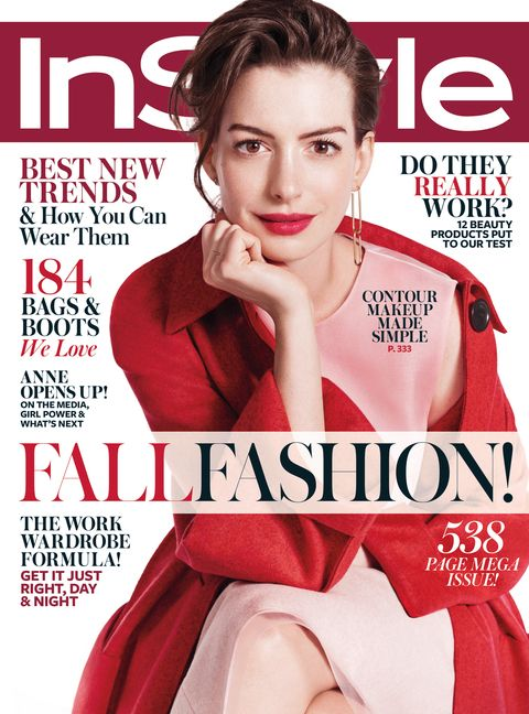 Instyle – Anne Hathaway