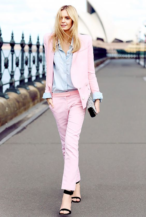 The Power of Pink Wardrobe Update Forever Chic by Meg