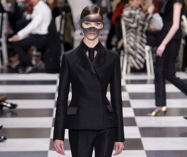 Lost in a Masquerade of Beauty: Christian Dior