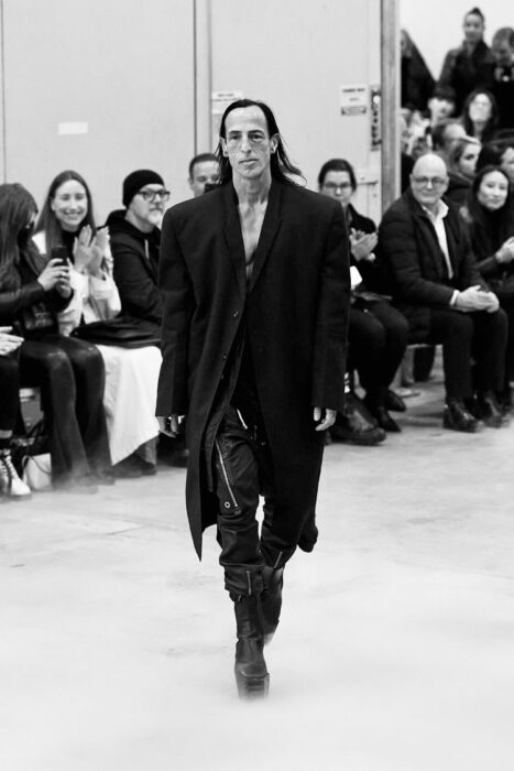 The designer and visonaire Rick Owens Fall 2020 runway Show Forever