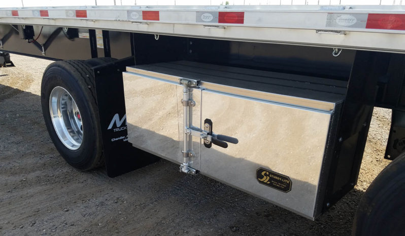 Dorsey flatbed trailer toolbox