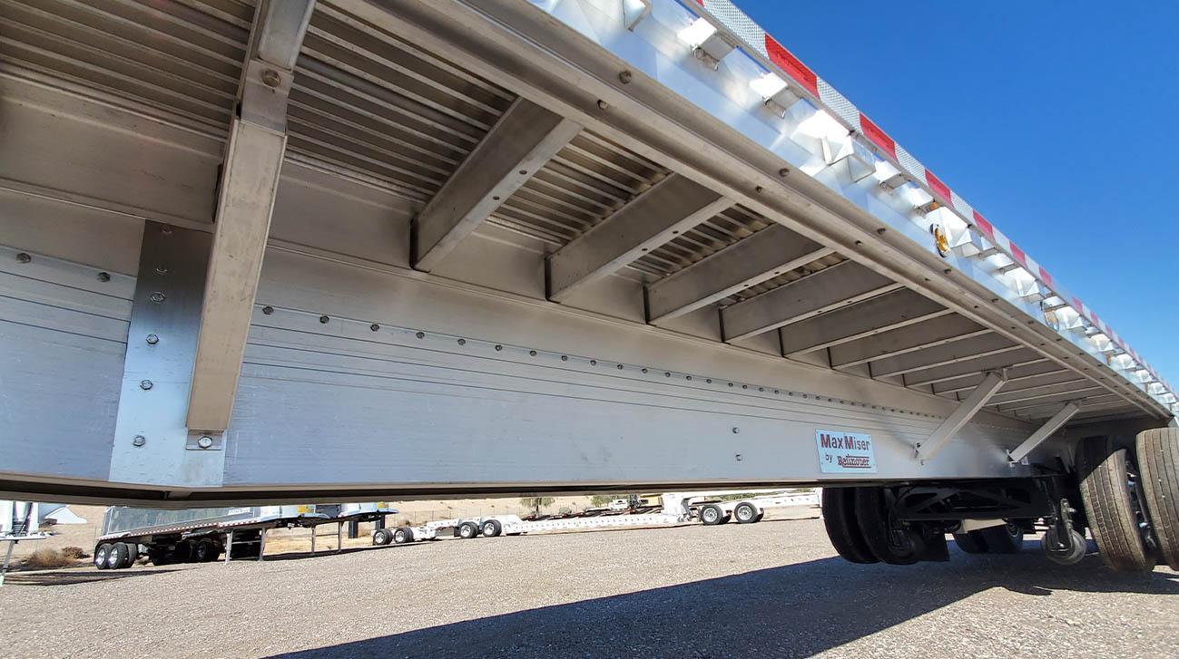 flatbed trailer crossmembers