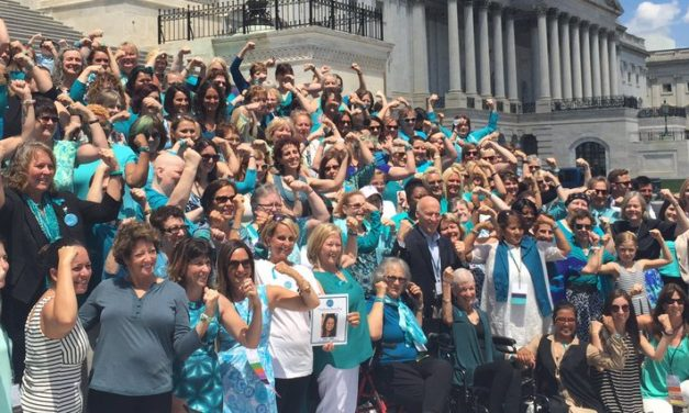 Ovarian cancer conference leads to success on Capitol Hill for my teal sisters