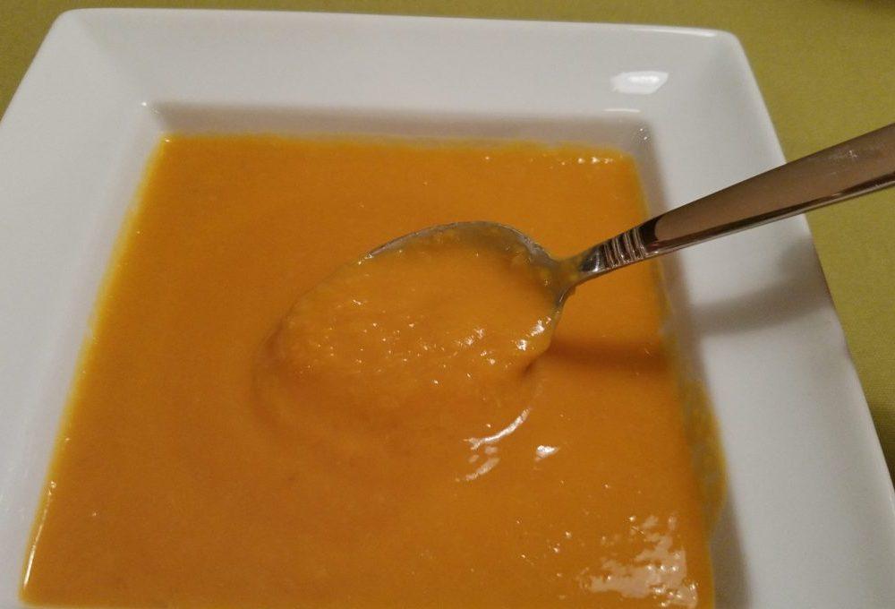 Sweet Potato Lemongrass Ginger Soup