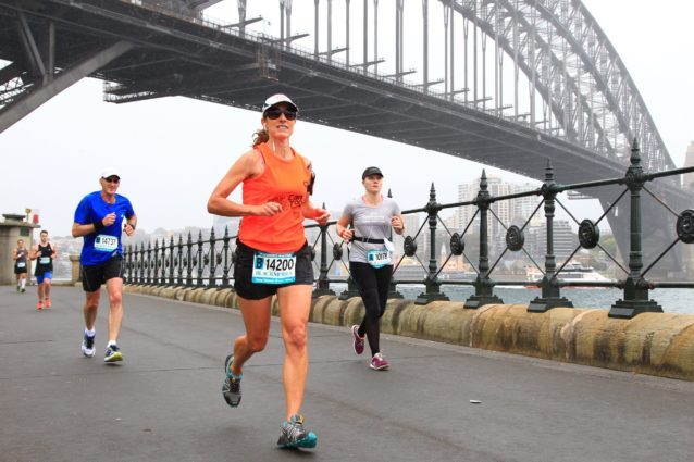 Cancer diagnosis sends woman running — globally