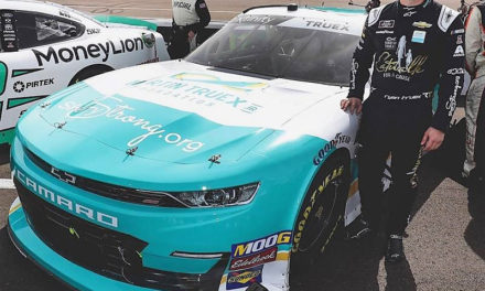 Truex to Carry SherryStrong, Catwalk for a Cause on No. 8 at ISM Raceway