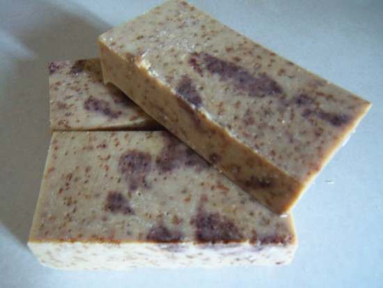 Oatmeal and Honey Soap Recipe from Simple Life Mom