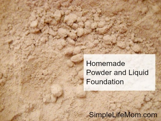 Homemade Powder and Liquid Foundation