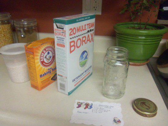 Dishwasher Detergent and Rinse