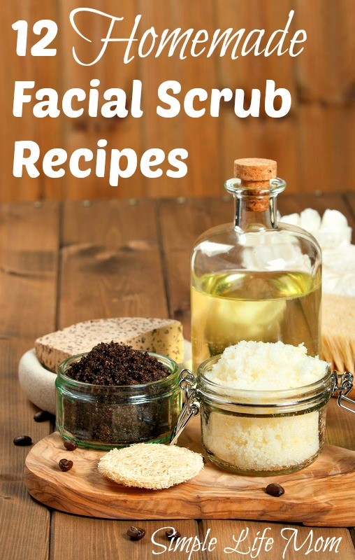 12 Homemade Facial Scrubs