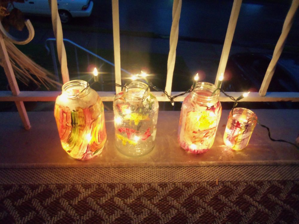 Homemade Holiday Jars