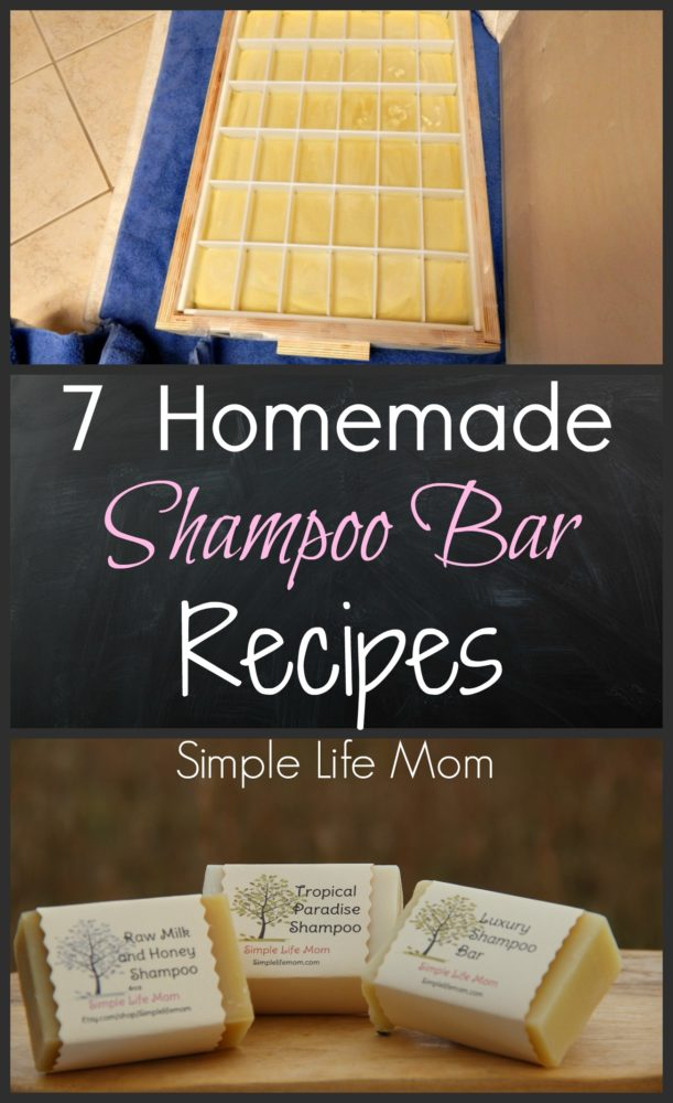 7 Homemade Shampoo Bar Recipes